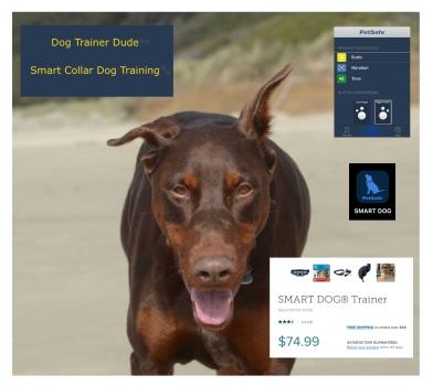 https://www.amazon.com/PetSafe-SMART-Bluetooth-Training-Collar/dp/B01K73MUTI